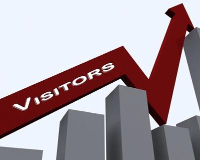 افزایش بازدیدکننده وب سایت